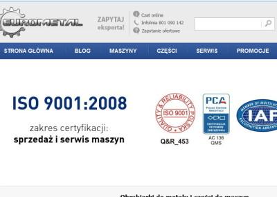 EUROMETAL Sp. z o. o. – Miszewko