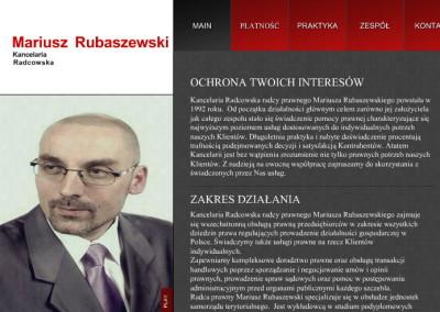 KANCELARIA RADCOWSKA  Mariusz Rubaszewski