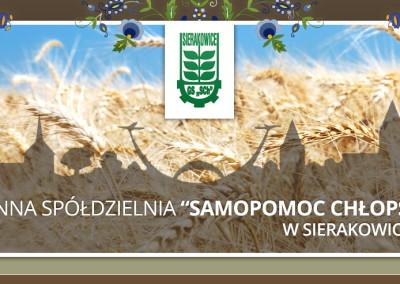 """Gminna Spółdzielnia """"Samopomoc Chłopska""""-Sierakowice"""